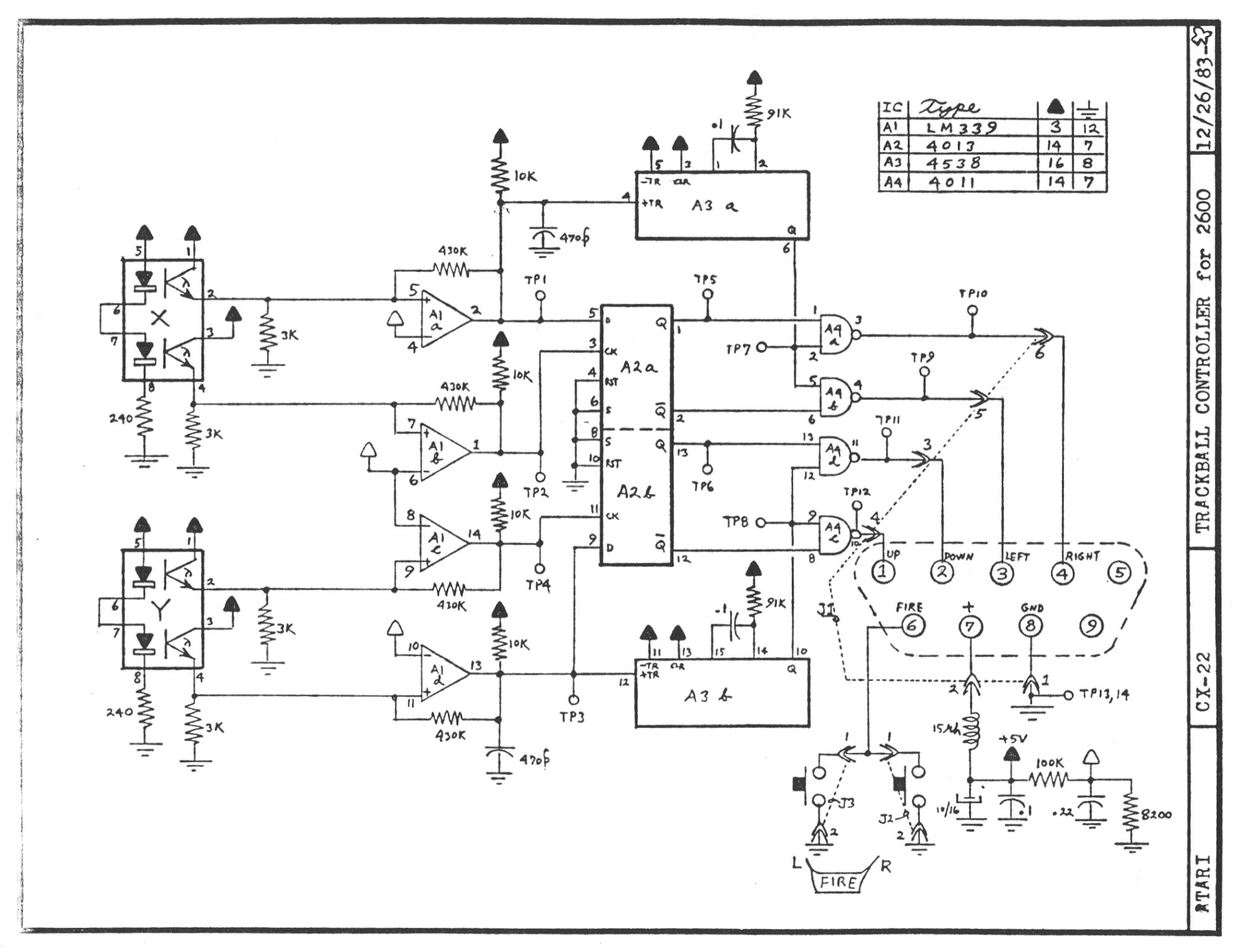 atariage - atari 2600 schematics