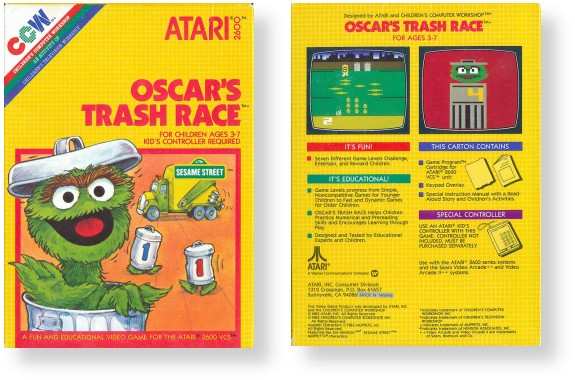 Atari - Children's Box Style