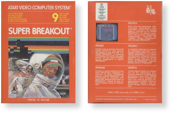 Atari - Color International Box Style