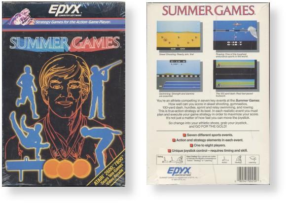 Epyx - Standard Box Style