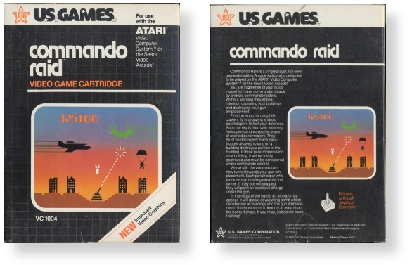 U.S. Games - Black Box Style