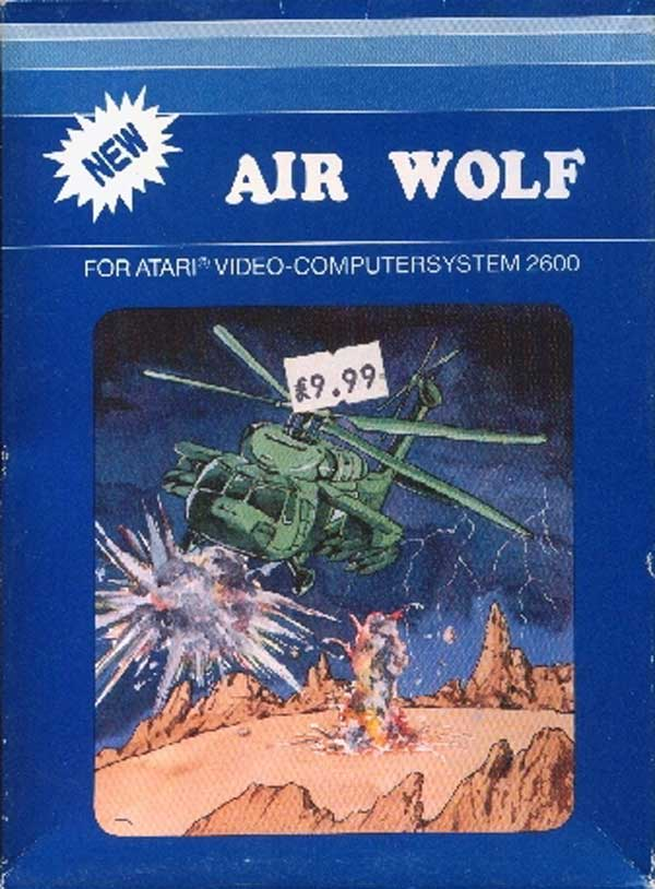 Air Wolf - Box Front