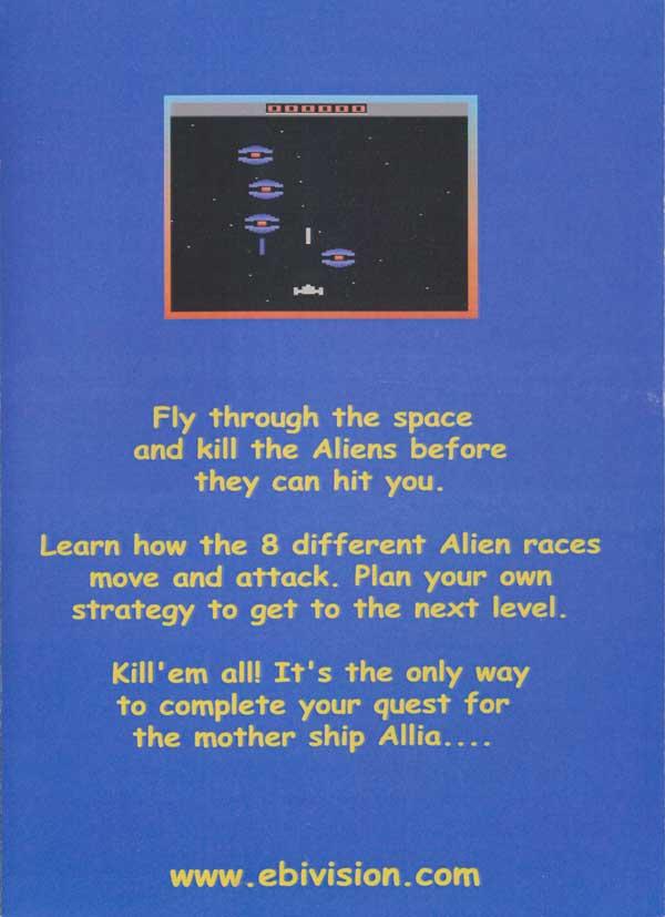Allia Quest - Box Back