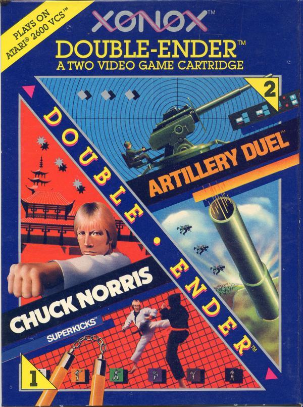 Artillery Duel/Chuck Norris Superkicks - Box Front