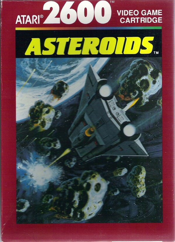 Asteroids - Box Front