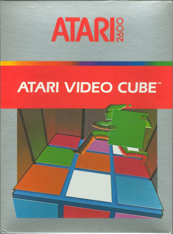 Atari Video Cube - Box Front