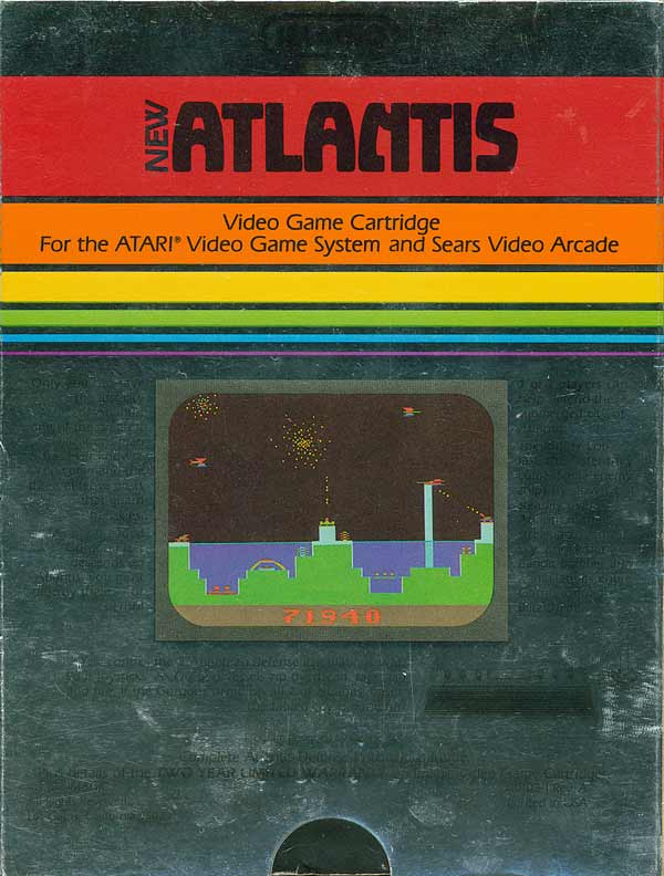 Atlantis II - Box Back