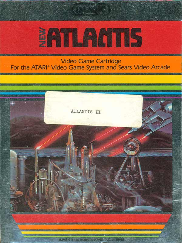 Atlantis II - Box Front