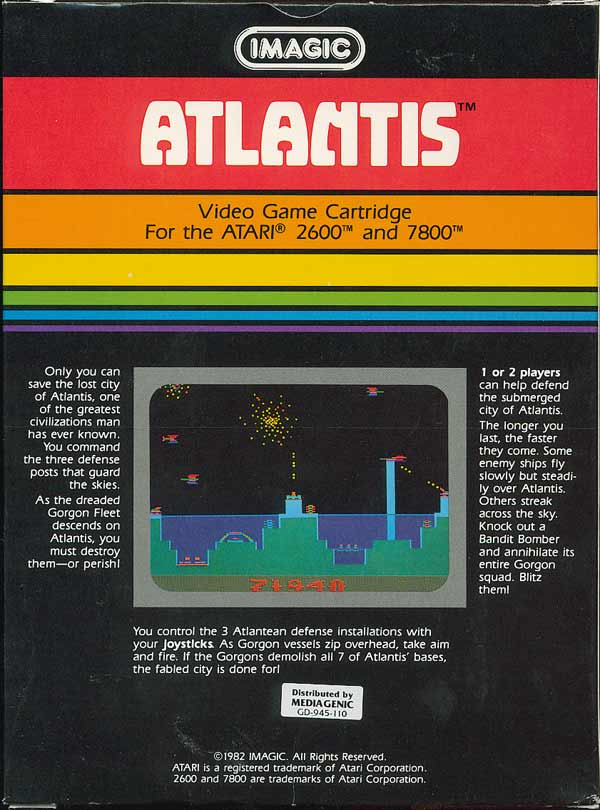 Atlantis - Box Back