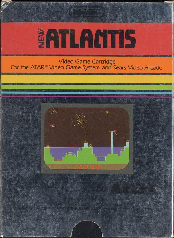 Atlantis - Box Back