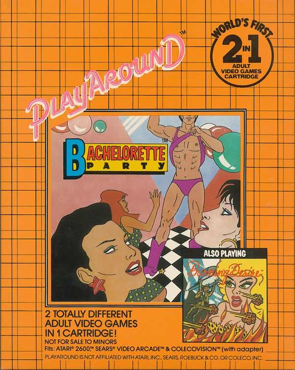 Bachelorette Party/Burning Desire - Box Back