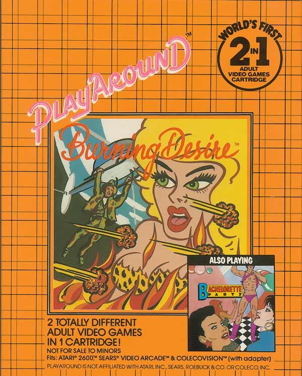Bachelorette Party/Burning Desire - Box Front