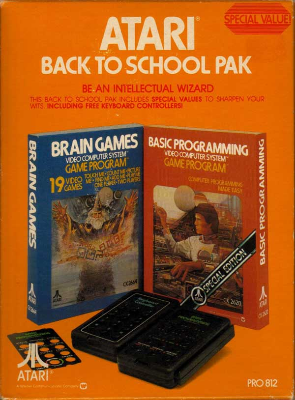 Back to School Pak - Box Front