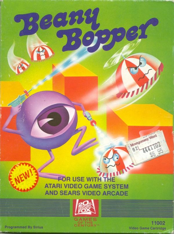 Beany Bopper - Box Front