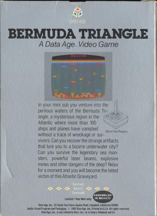 Bermuda Triangle - Box Back