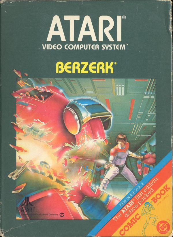 Berzerk - Box Front