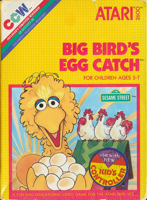Big Bird's Egg Catch - Box Front