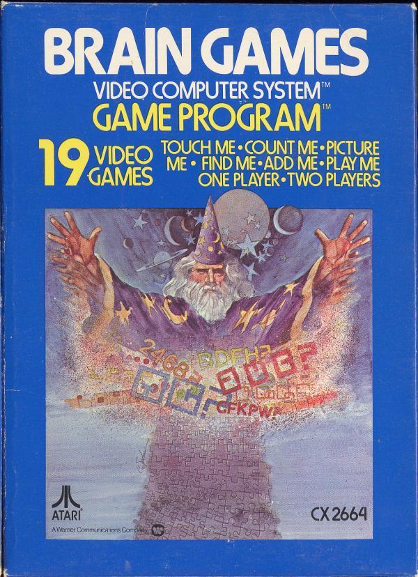 Brain Games - Box Front