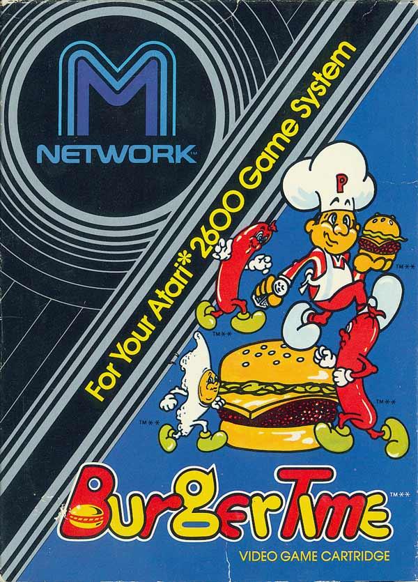 Burgertime - Box Front