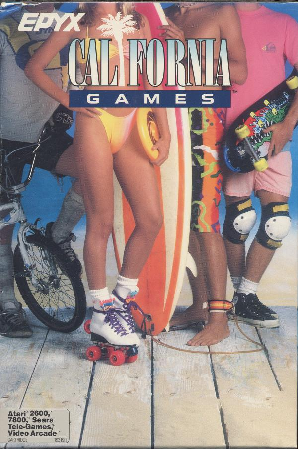 California Games - Box Front