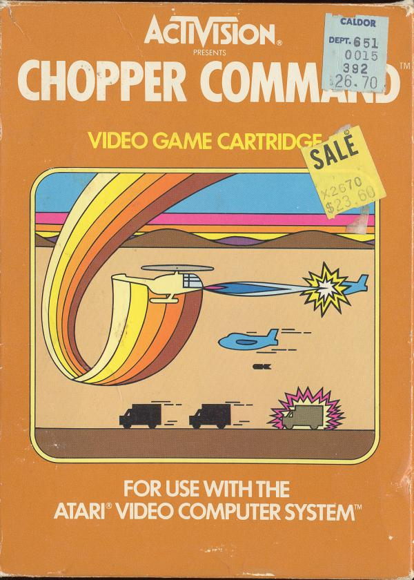 Chopper Command - Box Front
