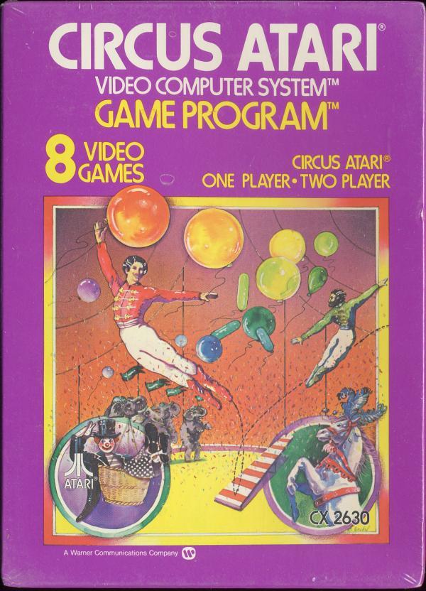 Circus Atari - Box Front