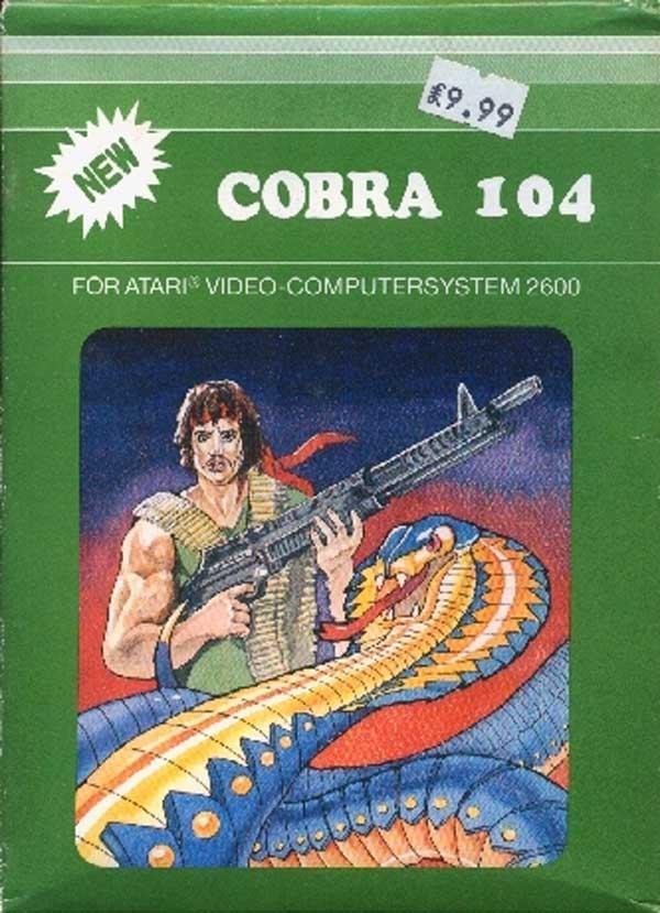 Cobra 104 - Box Front