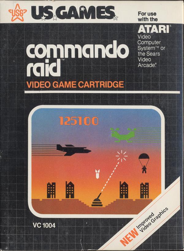 Commando Raid - Box Front