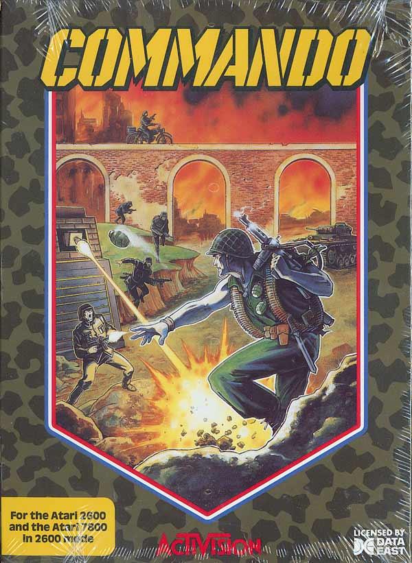 Commando - Box Front