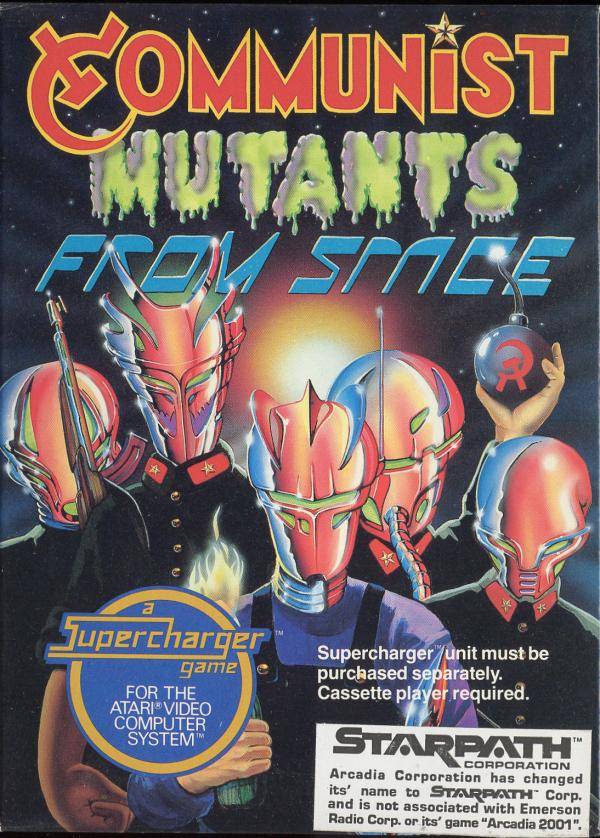Communist Mutants from Space - Box Front