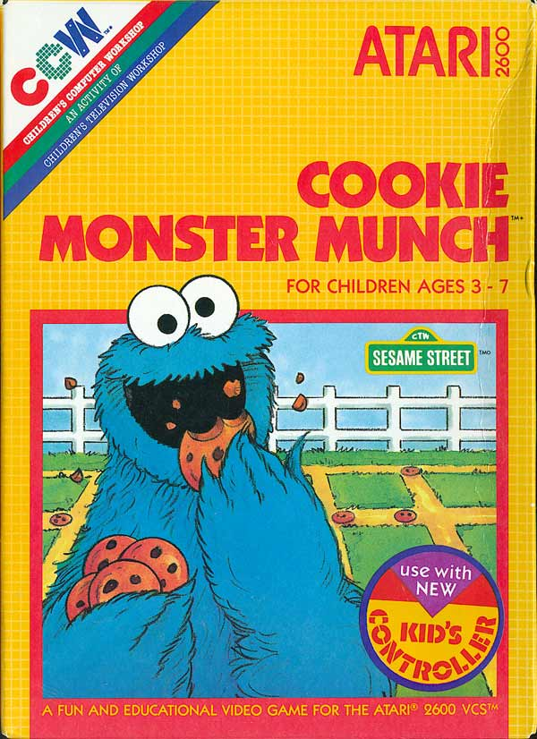 Cookie Monster Munch - Box Front