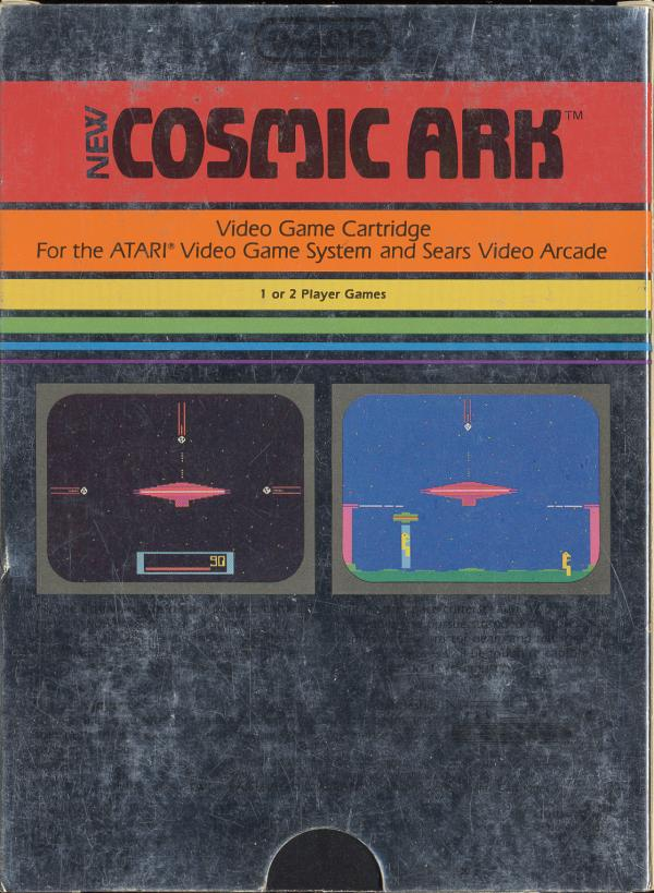 Cosmic Ark - Box Back