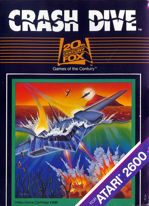 Crash Dive - Box Front