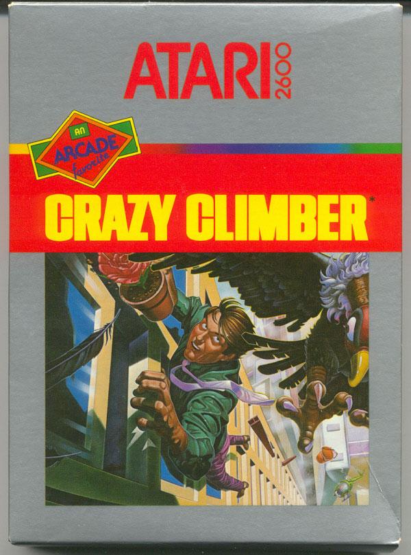 Crazy Climber - Box Front