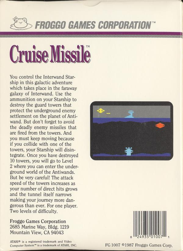 Cruise Missile - Box Back