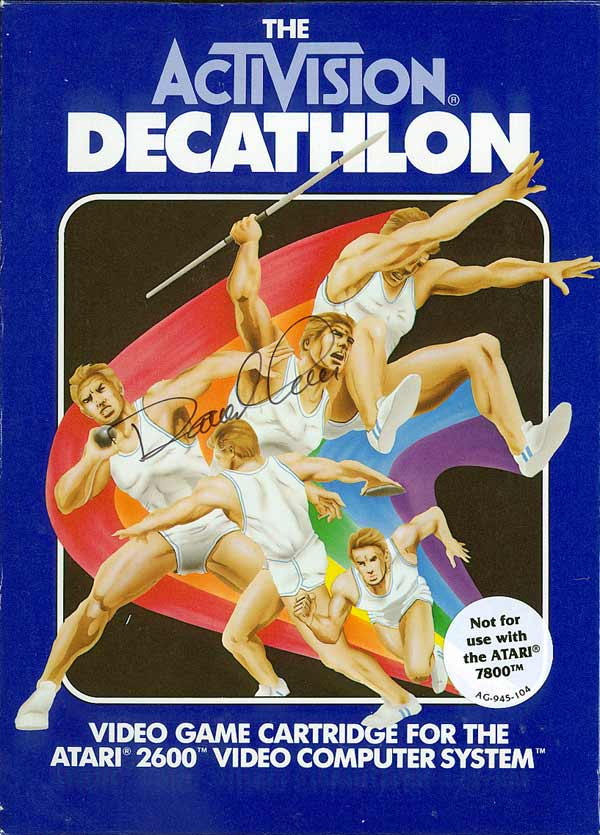 Activision Decathlon, The - Box Front