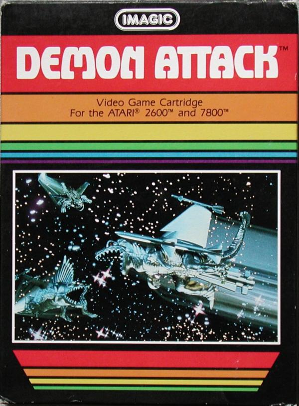 Demon Attack - Box Front