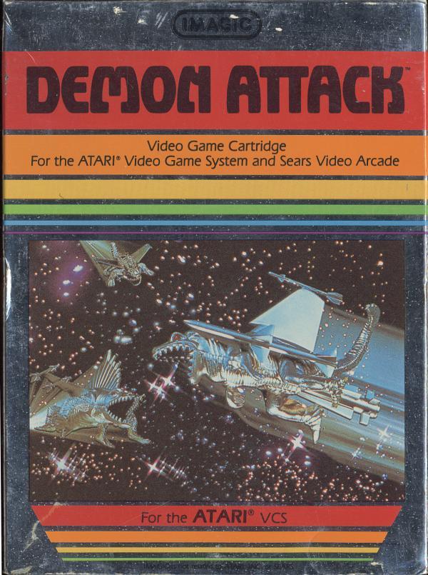 Demon Attack - Box Front