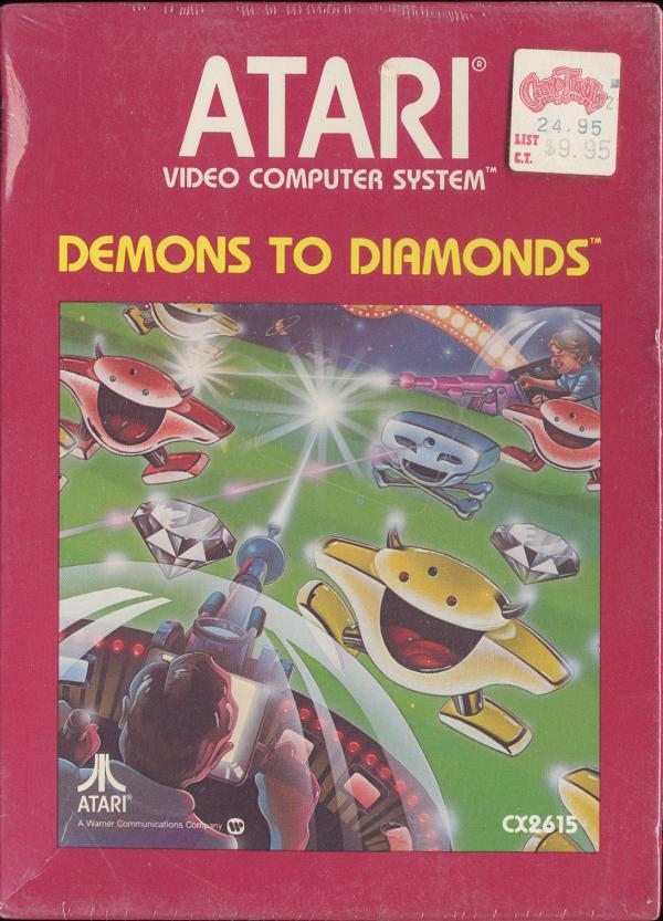 Demons to Diamonds - Box Front