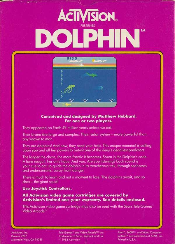 Dolphin - Box Back