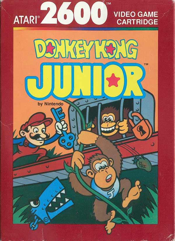 Donkey Kong Junior - Box Front