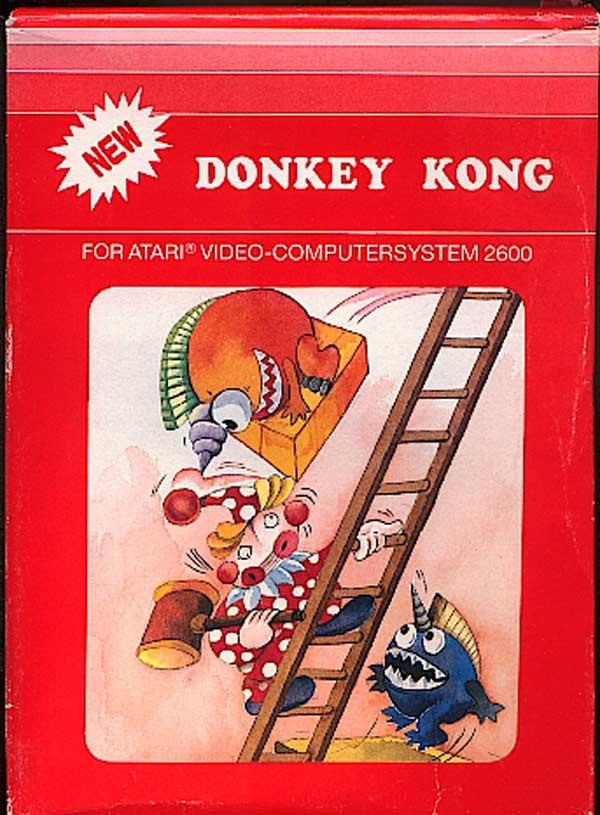 Donkey Kong - Box Front
