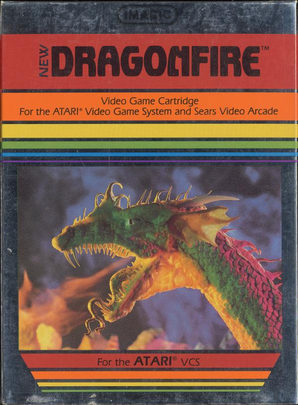 Dragonfire - Box Front