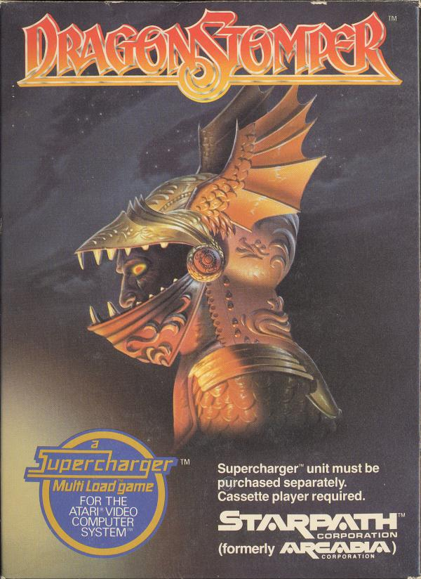 Dragonstomper - Box Front