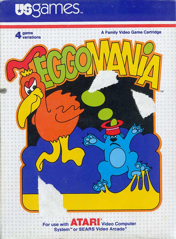 Eggomania - Box Front
