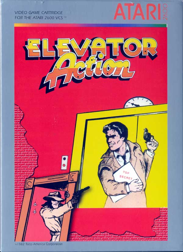 Elevator Action - Box Front