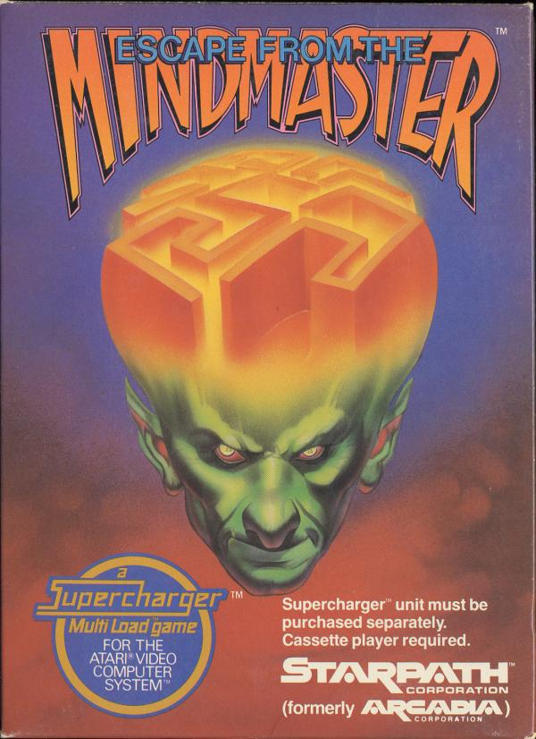 Escape From the Mindmaster - Box Front