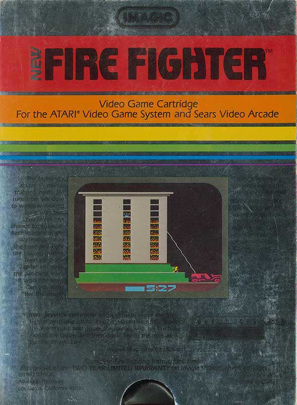 Fire Fighter - Box Back