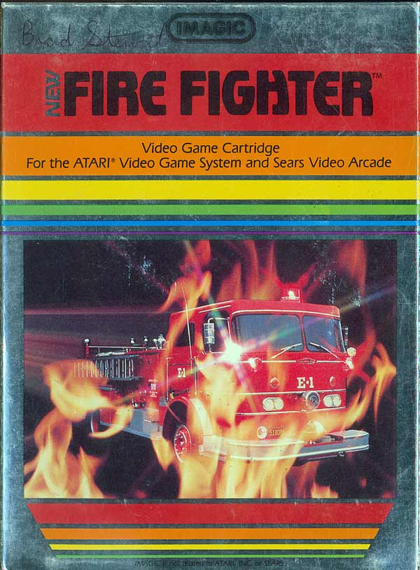 Fire Fighter - Box Front