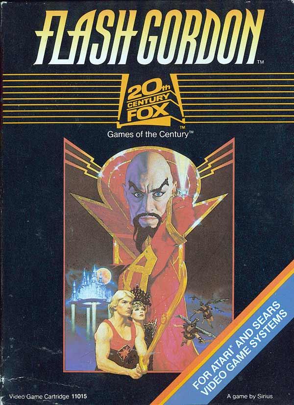 Atariage Atari 2600 Boxes Flash Gordon 20th Century Fox